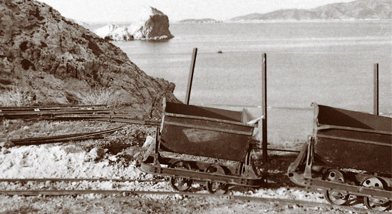 Isla griega de Milos. Museo de minería. Grecia. lablogueraviajera.com
