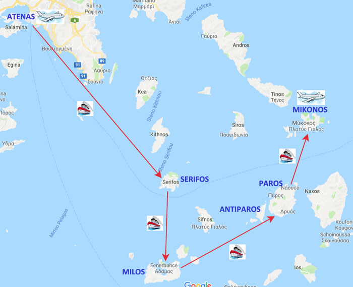 ruta-islas-griegas-paros-serifos-milos