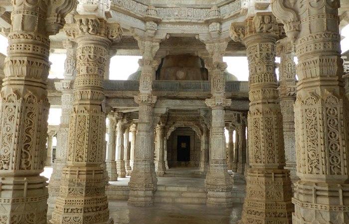 Templo-Jainista-Ranakpur-Rajastan-India