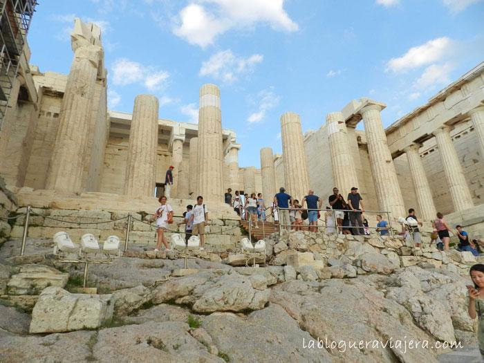 Entrada-propileos-Acropolis-Atenas
