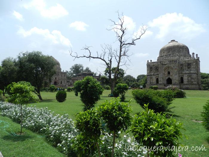 Jardines-Lodi-Nueva-Delhi-India
