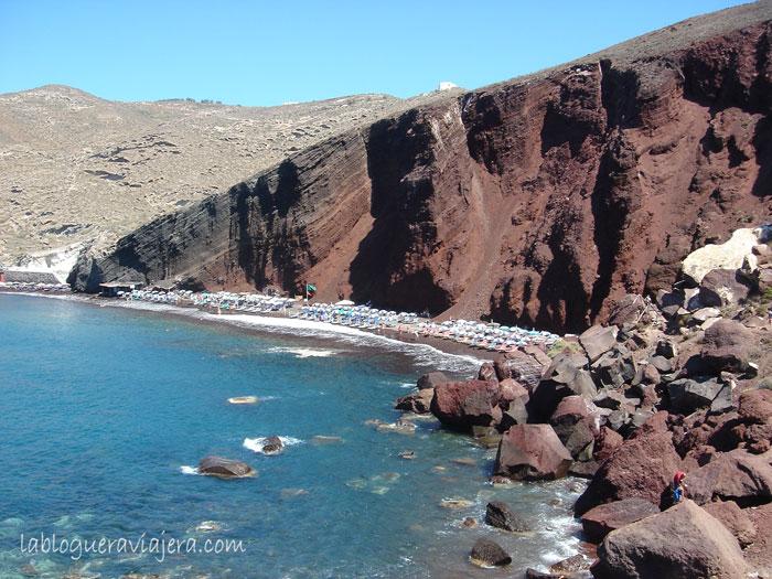 Playa-Roja-Isla-Griega-Santorini