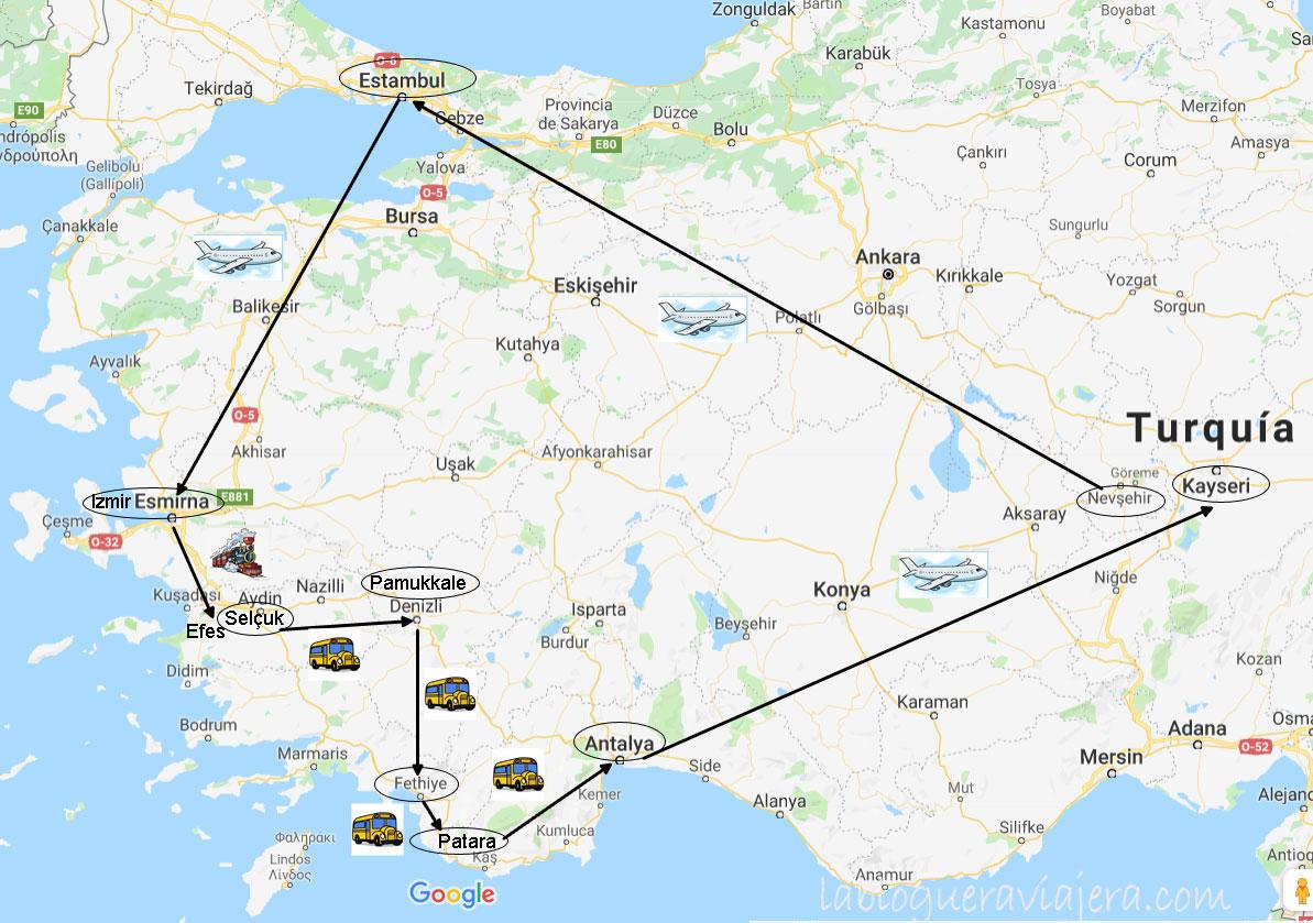 Ruta Turquia