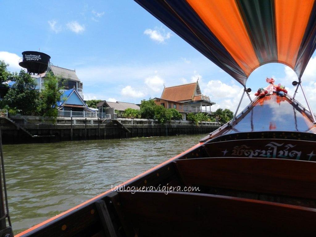 Canales-Thonburi-Bangkok-Tailandia