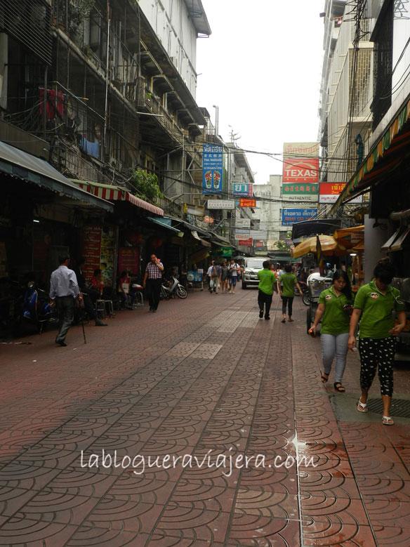 Calle-Phadungdao-Chinatown- Bangkok-Tailandia
