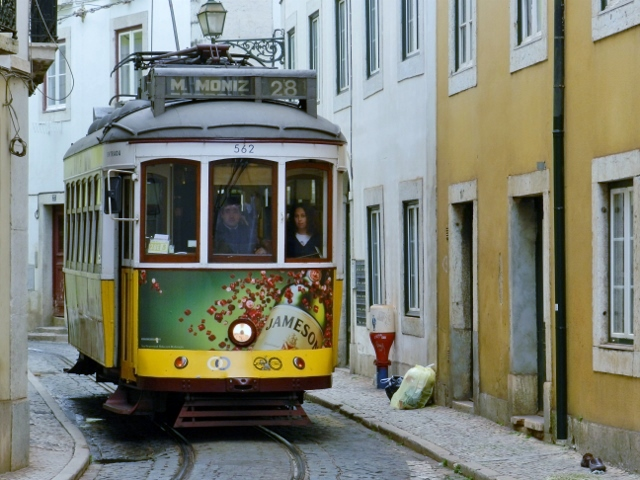 Tranvía-28-Lisboa-Portugal