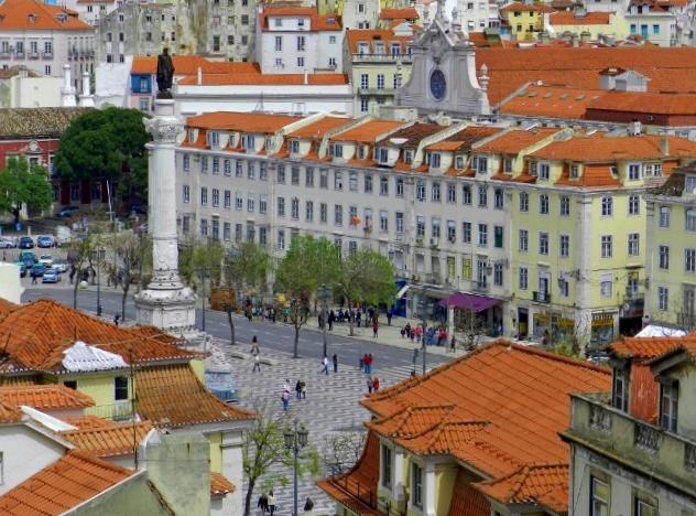 Rossio-Lisboa-Portugal