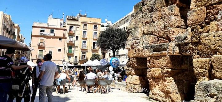 Plaza-Foro-Tarragona-Cataluña